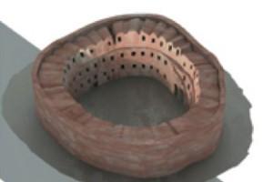3D reconstruction Qasr el-Haj
