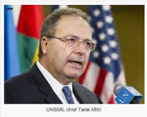 UNSMIL Chief Terek Mitri