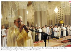 Imam against fundamentalists